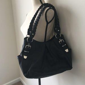 Apt. 9 Purse Black Shoulder Bag EUC